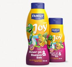 FAMILY Joy 2 IN 1 Sampoo & Shower Gel Kids Exotic 750 ml