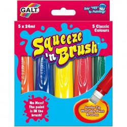 Galt Squeeze'n Brush - 5 culori