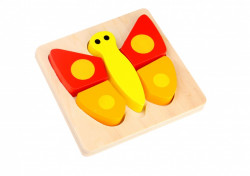 Mini Puzzle lemn,Fluture