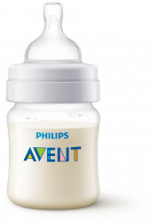 Philips-Avent Biberon Classic, 125 ml, tetina Airflex
