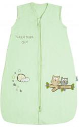 Sac de dormit Mint Owl 0-3 luni 1.0 Tog