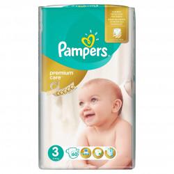 Scutece Pampers Premium Care 3 Midi Value Pack 60 buc