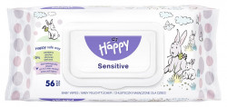 Servetele umede Happy Sensitive, 56 buc