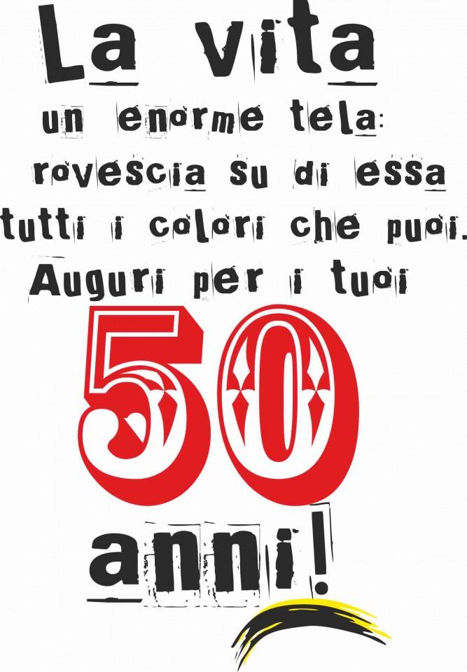 Biglietto Auguri 50 Anni Divertenti Maglietta Compleanno Anni With