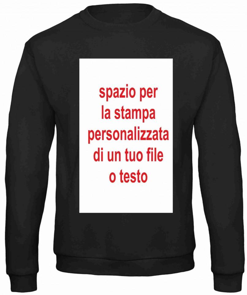 purchase cheap 877ba 5a084 Felpa personalizzata girocollo Fashion