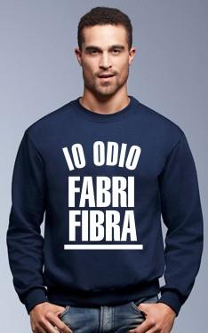 Felpa girocollo Fashion da uomo IO ODIO FABRI FIBRA immagini
