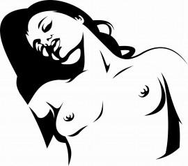 MAGLIETTA IN 100% COTONE CLASSICO E FIAMMATO  DA UOMO CON STAMPA SEXY immagini