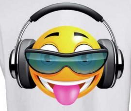 MAGLIETTA IN 100% COTONE DA DONNA  SMILE immagini