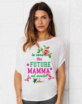MAGLIETTA PER PREMAMAN, AMPIA VESTIBILITA' : FUTURE immagini