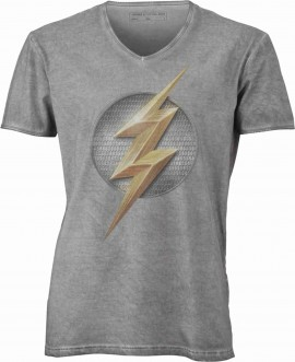 T-shirt con scollo a v, 100% cotone single jersey  VINTAGE con stampa MOTIVO NERD immagini