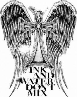 MAGLIETTA IN 100% COTONE DA DONNA TITOLO  ANGEL immagini
