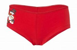 Coulotte Cotton Stretch rosso per natale immagini