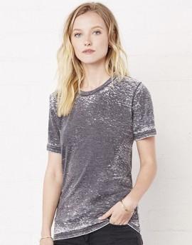 T-shirt unisex Poly-Cotton EFFETTO MARMO con stampa motivo NERD immagini
