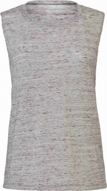 Tank Top Flowy Scoop Muscle EFFETTO MARMO CON STAMPA изображений