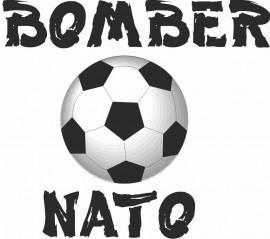 MAGLIETTA 100% COTONE BIMBO/A TITOLO BOMBER NATO immagini
