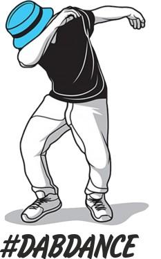 MAGLIETTA IN 100% COTONE DA UOMO DAB DANCE immagini