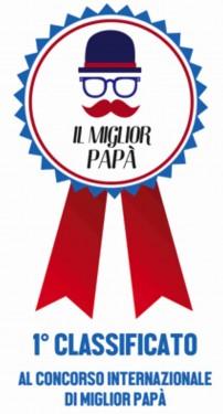 MAGLIETTA IN 100% COTONE PER LA FESTA DEL PAPA' TITOLO : PRIMO immagini