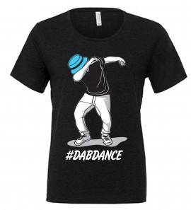 MAGLIETTA NERA 100% COTONE  DAB DANCE immagini