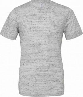 T-shirt unisex Poly-Cotton EFFETTO MARMO con stampa изображений