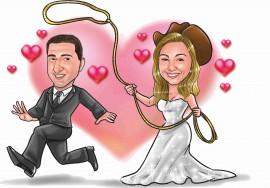 MAGLIETTA IN 100% COTONE UOMO/DONNA PER MATRIMONI: PRESO immagini