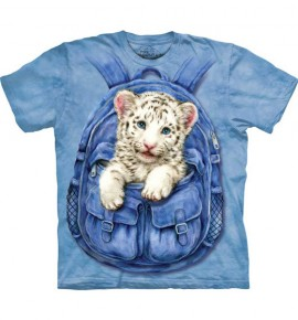 Backpack White Tiger immagini