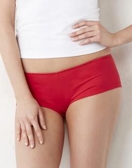 Coulotte Cotton Stretch rosso per natale imágenes
