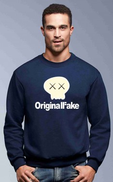 Felpa girocollo Fashion da uomo ORIGINAL FAKE imágenes