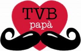 MAGLIETTA IN 100% COTONE PER LA FESTA DEL PAPA' TITOLO : TVB immagini