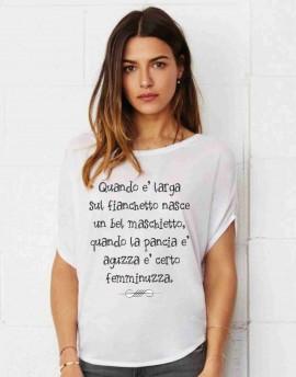 MAGLIETTA PER PREMAMAN, AMPIA VESTIBILITA' :  FEMMINUZZA immagini