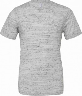T-shirt unisex Poly-Cotton EFFETTO MARMO con stampa images