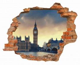 MAGLIETTA IN 100% COTONE DA UOMO TITOLO LONDON immagini