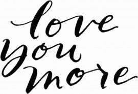 MAGLIETTA IN 100% COTONE UOMO/DONNA PER SAN VALENTINO: LOVE YOU immagini