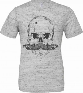 T-shirt unisex Poly-Cotton EFFETTO MARMO con stampa imágenes
