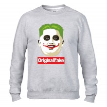 Felpa girocollo Fashion ORIGINALFAKE
