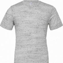 T-shirt unisex Poly-Cotton EFFETTO MARMO CON STAMPA PERSONALIZZATA