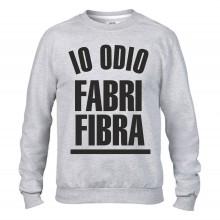 Felpa girocollo Fashion da uomo IO ODIO FABRI FIBRA
