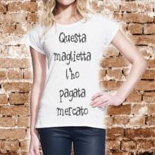 MAGLIETTA IN 100% COTONE MADE IN PUGLIA TITOLO: PAGATA