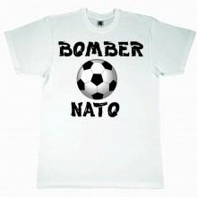 MAGLIETTA 100% COTONE BIMBO/A TITOLO BOMBER NATO