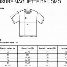 MAGLIETTA IN 100% COTONE CLASSICO BIANCA O NERA  MADE IN ITALY