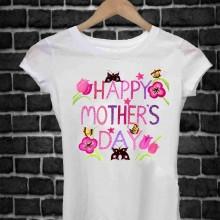 REGALA UNA MAGLIETTA PER LA FESTA DELLA MAMMA TITOLO: HAPPY123