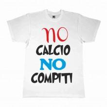 MAGLIETTA 100% COTONE BIMBO/A TITOLO NO CALCIO NO COMPITI