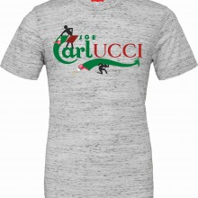 T-shirt unisex Poly-Cotton EFFETTO MARMO con stampa ORIGINAL FAKE