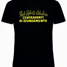 Maglietta bianca e nera da uomo e da donna PAULO ROBERTO