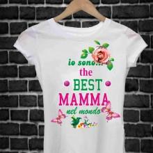 REGALA UNA MAGLIETTA PER LA FESTA DELLA MAMMA TITOLO: BEST