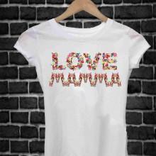 REGALA UNA MAGLIETTA PER LA FESTA DELLA MAMMA TITOLO: LOVE