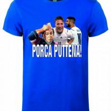 Maglietta unisex 100% cotone Porca Puttena