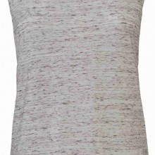 Tank Top Flowy Scoop Muscle EFFETTO MARMO CON STAMPA