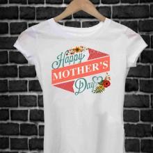 REGALA UNA MAGLIETTA PER LA FESTA DELLA MAMMA TITOLO: HAPPY 2
