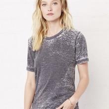 T-shirt unisex Poly-Cotton EFFETTO MARMO con stampa motivo NERD