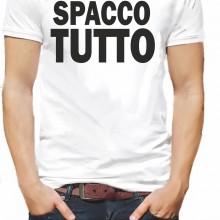 MAGLIETTA BIANCA 100% COTONE MADE IN ITALY ORIGINAL FAKE